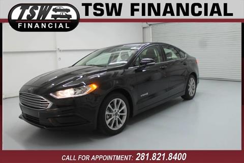 Ford Fusion Hybrid For Sale >> Ford Fusion Hybrid For Sale In Humble Spring Tx Tsw