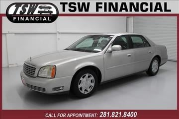 2005 Cadillac DeVille for sale in Humble/Spring, TX