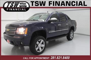 2011 Chevrolet Avalanche for sale in Humble/Spring, TX