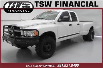 2005 Dodge Ram Pickup 3500 for sale in Humble/Spring, TX