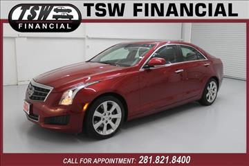 2013 Cadillac ATS for sale in Humble/Spring, TX