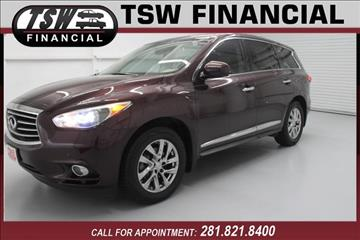 2013 Infiniti JX35 for sale in Humble/Spring, TX