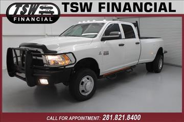 2012 RAM Ram Pickup 3500 for sale in Humble/Spring, TX
