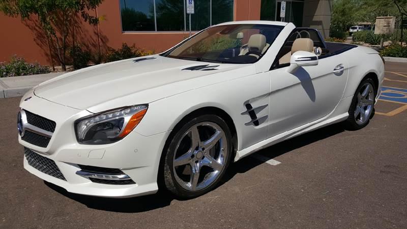 2014 Mercedes Benz SL Class For Sale At AZ Auto Brokers In Phoenix AZ
