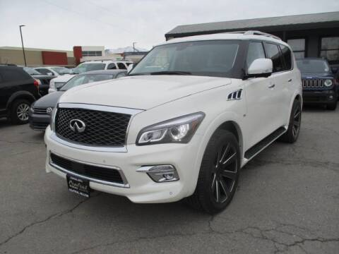 2017 Infiniti QX80 for sale at CENTRAL AUTO in South Salt Lake UT