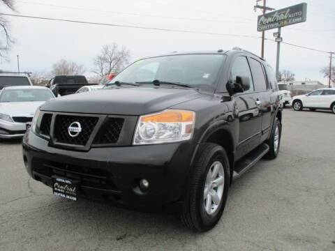 2015 Nissan Armada SV for sale at CENTRAL AUTO in South Salt Lake UT