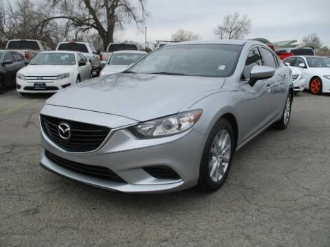 2016 Mazda MAZDA6 i Sport for sale at CENTRAL AUTO in South Salt Lake UT