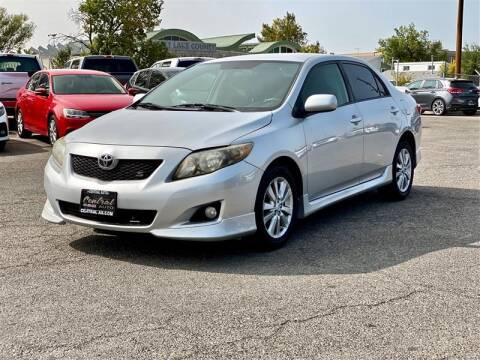 2010 Toyota Corolla for sale at Central Auto in South Salt Lake UT