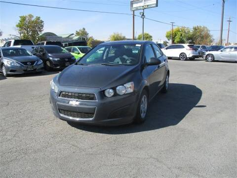2013 Chevrolet Sonic for sale at Central Auto in South Salt Lake UT