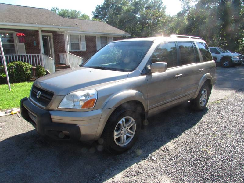 2004 Honda Pilot 4dr Ex L 4wd Suv W Leather In Summerville