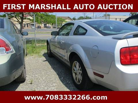 2005 ford mustang deluxe 2dr fastback in harvey il first marshall auto auction. Black Bedroom Furniture Sets. Home Design Ideas
