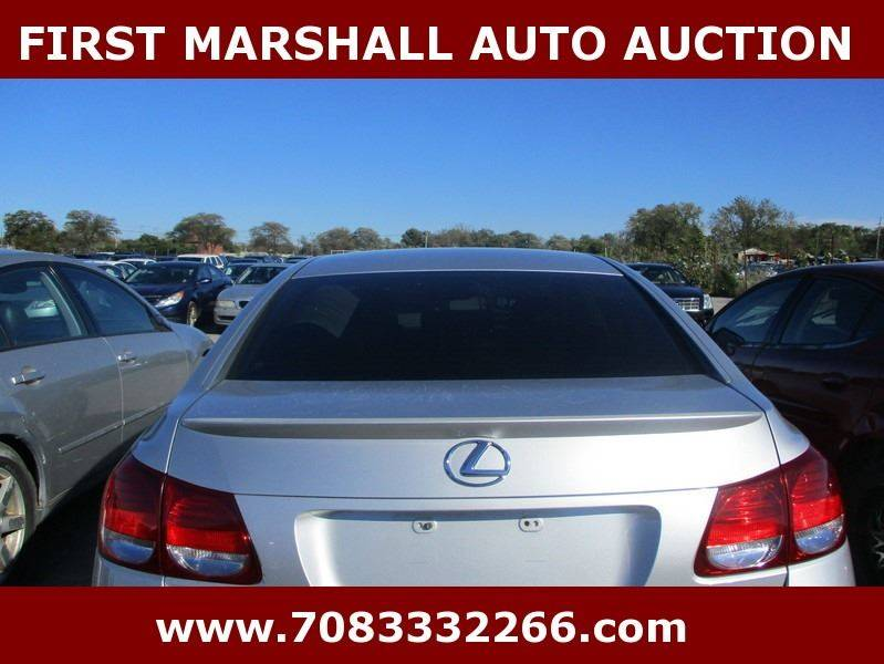2006 lexus gs 300 4dr sedan in harvey il first marshall auto auction. Black Bedroom Furniture Sets. Home Design Ideas