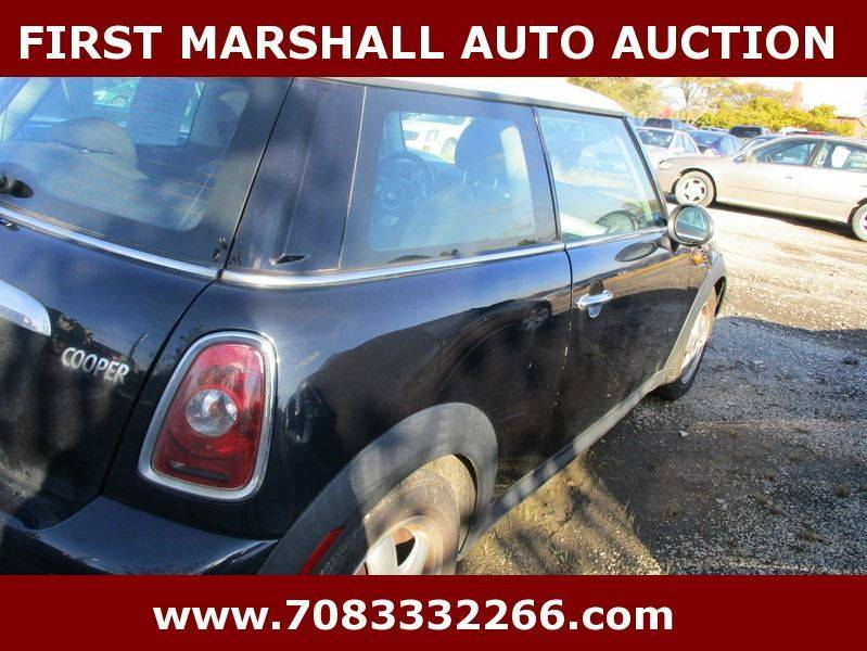 2007 mini cooper 2dr hatchback in harvey il first marshall auto auction. Black Bedroom Furniture Sets. Home Design Ideas