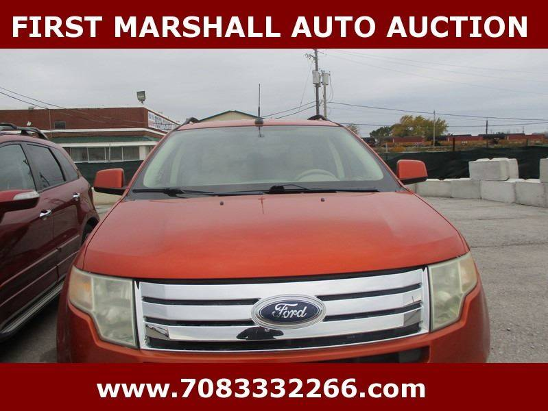2007 ford edge awd sel 4dr crossover in harvey il first marshall auto auction. Black Bedroom Furniture Sets. Home Design Ideas