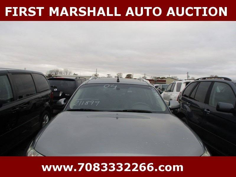 2004 infiniti fx35 awd 4dr suv in harvey il first marshall auto auction. Black Bedroom Furniture Sets. Home Design Ideas