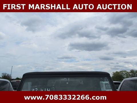 2001 Jeep Wrangler for sale in Harvey, IL