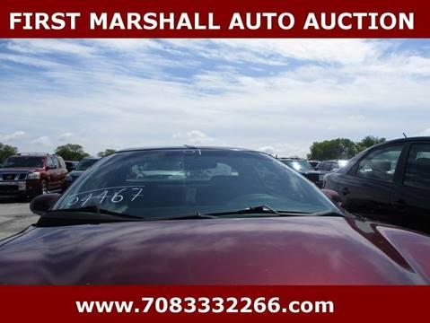 2001 Pontiac Firebird for sale in Harvey, IL