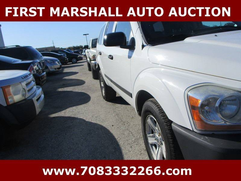 2006 Dodge Durango SXT 4dr SUV 4WD w/ Front, Rear and Third Row Head Airbags - Harvey IL