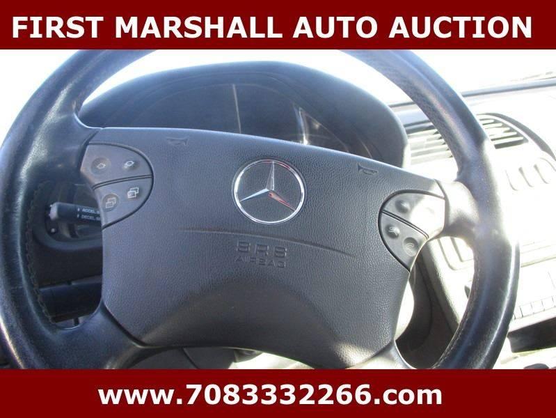 2001 Mercedes-Benz CLK CLK 430 2dr Coupe - Harvey IL