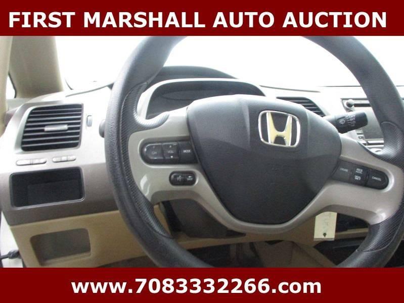 2007 Honda Civic Hybrid 4dr Sedan - Harvey IL