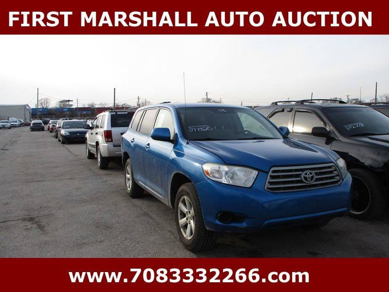 2008 Toyota Highlander AWD 4dr SUV - Harvey IL