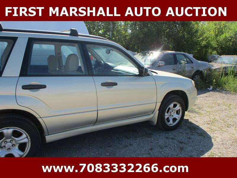 2007 Subaru Forester AWD 2.5 X 4dr Wagon (2.5L F4 4A) - Harvey IL