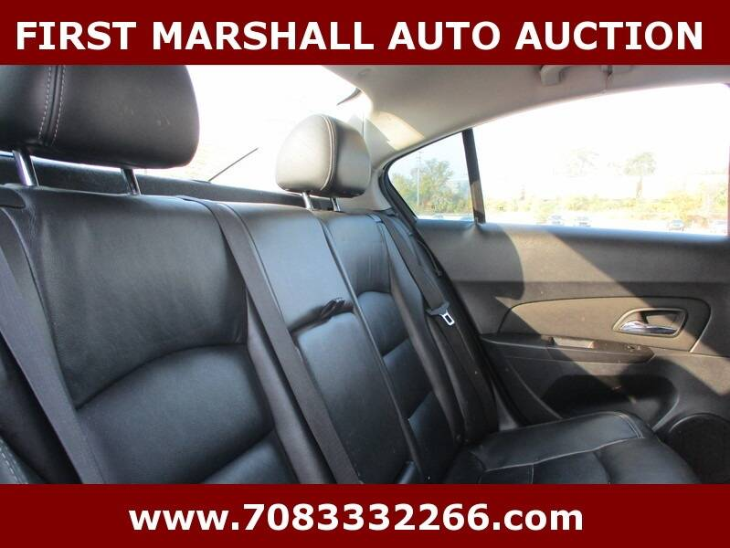 2012 Chevrolet Cruze LTZ 4dr Sedan w/1LZ - Harvey IL