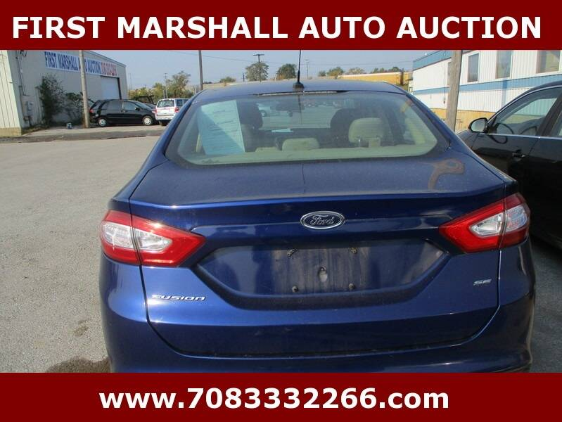 2014 Ford Fusion SE 4dr Sedan - Harvey IL