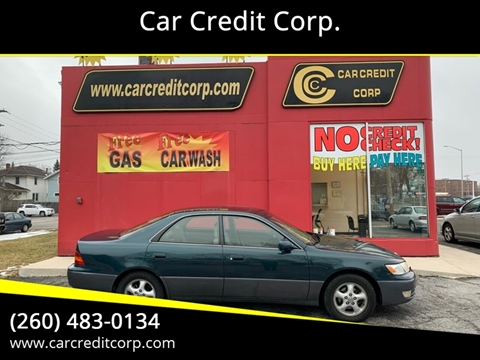 1998 Lexus ES 300 for sale at Car Credit Corp. in Fort Wayne IN