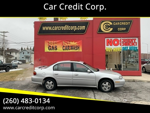 2002 Chevrolet Malibu LS for sale at Car Credit Corp. in Fort Wayne IN