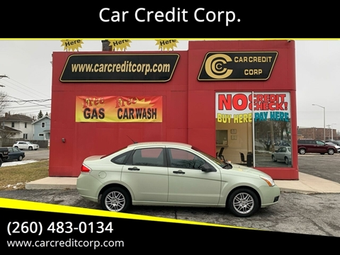 2010 Ford Focus SE for sale at Car Credit Corp. in Fort Wayne IN