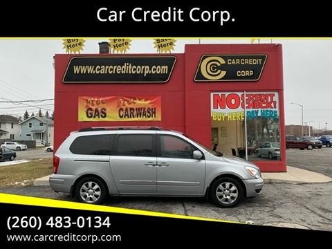 2007 Hyundai Entourage GLS for sale at Car Credit Corp. in Fort Wayne IN