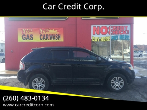 2010 Ford Edge SE for sale at Car Credit Corp. in Fort Wayne IN