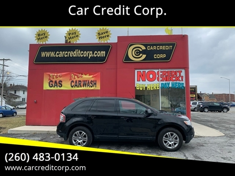 2007 Ford Edge SEL Plus for sale at Car Credit Corp. in Fort Wayne IN