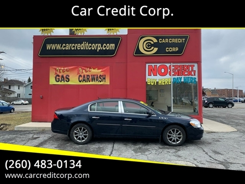 2008 Buick Lucerne CXL for sale at Car Credit Corp. in Fort Wayne IN