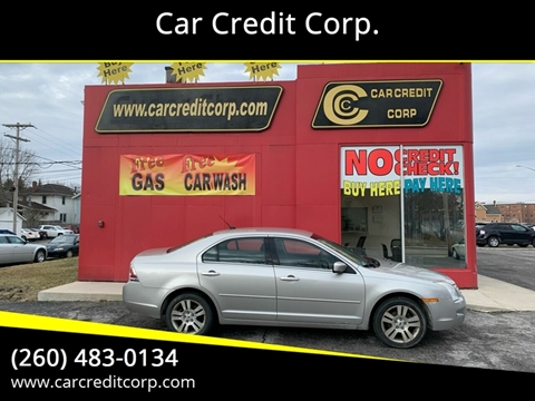 2007 Ford Fusion V6 SEL for sale at Car Credit Corp. in Fort Wayne IN
