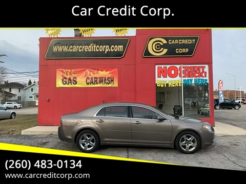 2010 Chevrolet Malibu LT for sale at Car Credit Corp. in Fort Wayne IN