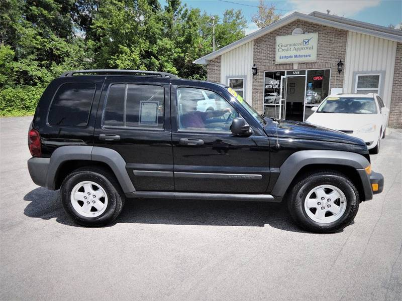 2007 Jeep Liberty Sport 4dr SUV 4WD In Amelia OH  Eastgate Motorcars