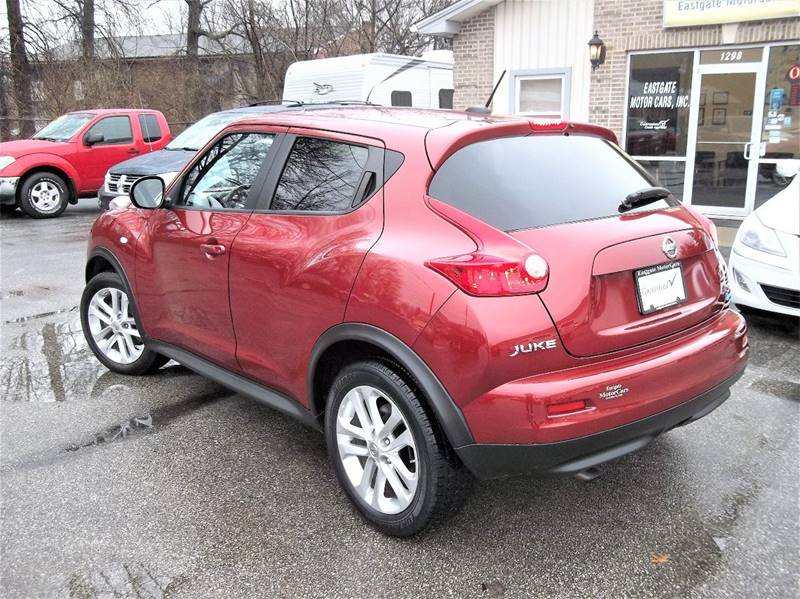 2012 Nissan JUKE AWD SV 4dr Crossover - Amelia OH