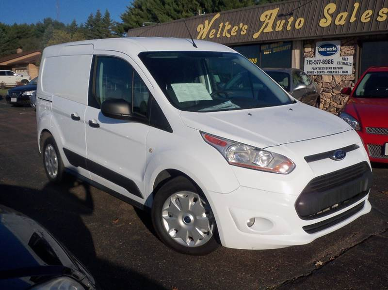 2014 Ford Transit Connect Cargo Xlt 4dr Swb Cargo Mini Van W Rear
