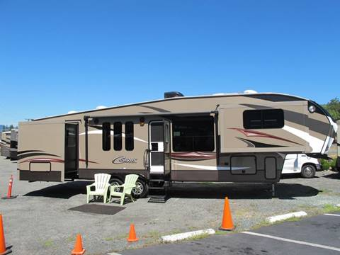 2015 Keystone Cougar 337FLS 5TH QUAD SLIDE for sale in Grants Pass, OR