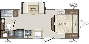 2016 BULLET 212 RBS for sale at Oregon RV Outlet LLC - Travel Trailers in Grants Pass OR