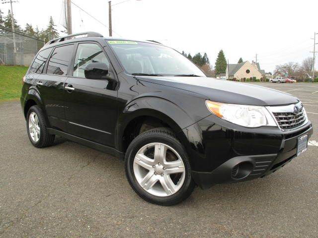 2010 Subaru Forester Awd 2 5x Premium 4dr Wagon 4a In Port Angeles