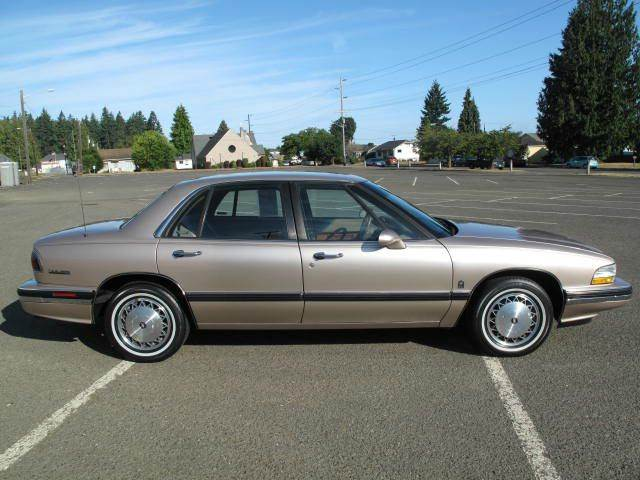 1993 buick lesabre custom 4dr sedan in port angeles wa. Black Bedroom Furniture Sets. Home Design Ideas