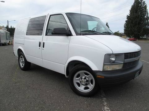 2005 Chevrolet Astro Cargo for sale in Port Angeles, WA