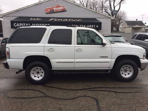 2003 Chevrolet Tahoe for sale in Canton, OH