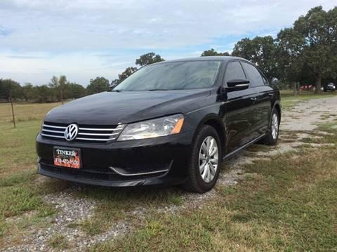 2014 Volkswagen Passat for sale in Indianola, OK