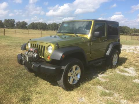 2008 Jeep Wrangler for sale in Indianola, OK