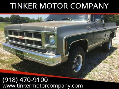 1977 GMC C/K 1500 Series for sale in Indianola, OK
