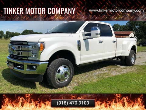 2017 Ford F-350 Super Duty for sale in Indianola, OK